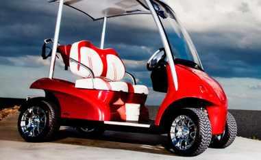 golf-cart-red