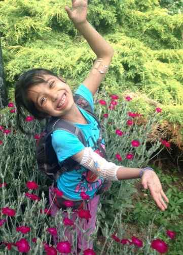 heart recipient Muskaan Grewal