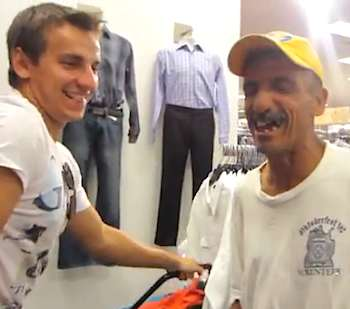 homeless makeover Vitalyzd TV