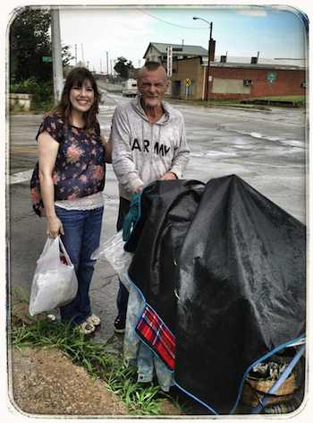 homeless mans act of kindness-Reddit