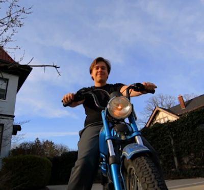 motorcyclist Andy Didorosi starts Detroit Bus Company