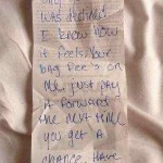 note after paying baggage fee- IMGUR