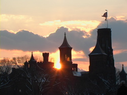 Smithsonian castle, photo by Geri (c) 2001