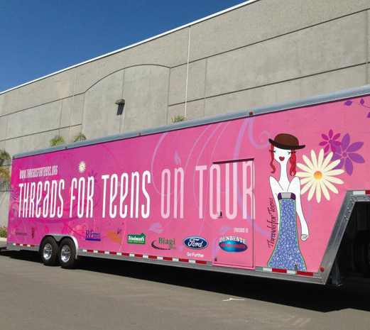Pink truck Threads for Teens