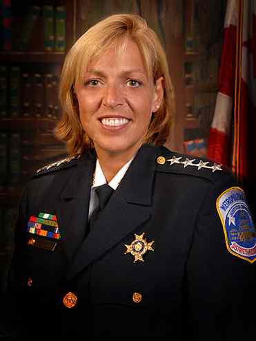 Police chief Cathy Lanier-wikipedia