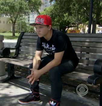 foster boy finds home w social worker-CBSVideo