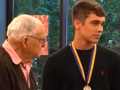 hero Teen honored for saving WWII Vet-CNYvideo