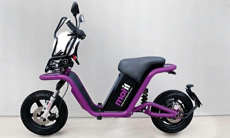 scooter in Motil sharing program Barcelona