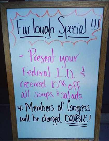 DC restaurant sign charges congress double-FB