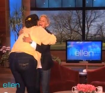 Ellen Show Surprises fan