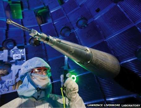 Fusion research-Lawrence Livermore Natl Laboratory