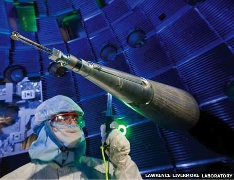 Fusion research-Lawrence Livermore Natl Laboratory