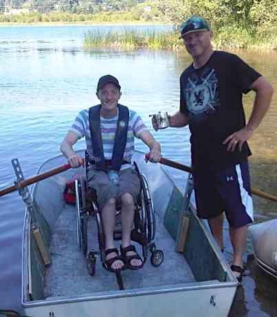 Jon Pimlott with Chairower
