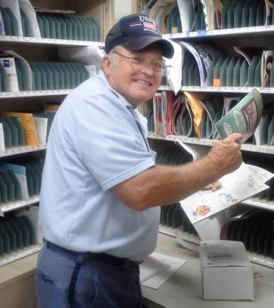 Letter carrier -USPS photo