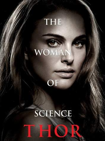 Natalie Portman Thor of Science