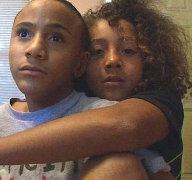 Okla boy wants to push brother in race