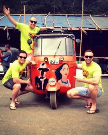 Rickshaw Run-40K