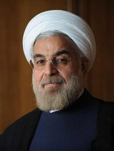 Rouhani official portrait Iran president