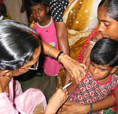 Vaccine for Indias poor-PATH