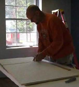 carpentry volunteer - Daily Press video