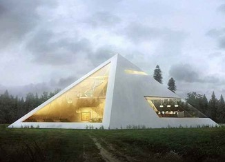 pyramid house design-Ramos