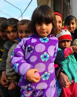 Syrian refugee children-IHH Insani Yardım VakfıTURKEY -CC, flickr