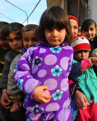 Syrian refugee children-IHH Insani Yardım VakfıTURKEY -CC, flickr