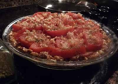 tomato tort