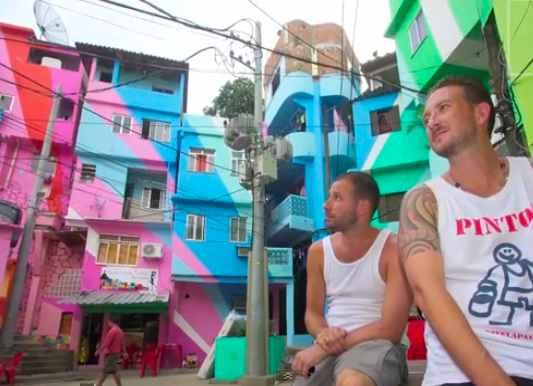 Brazil favela painters