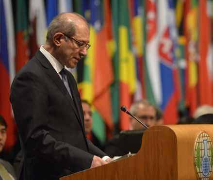 OPCW Director-General Ahmet Uzumcu-OPCW