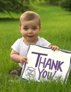 Thank You sign with baby-Amber B McN-Flickr-CC