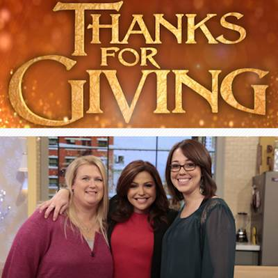 Thanks for Giving-Rachel Ray with heroes