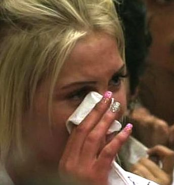 crying teen-Educating Yorkshire-film