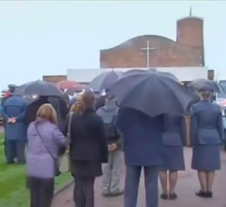 funeral raining-newsvid