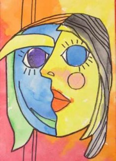 picasso cubist painting