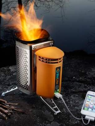 stove to Charge iphone-BioLite