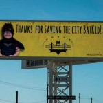Batkid billboard-PatriciavWilson tweeted this