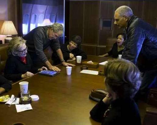 Bush shows paintings
