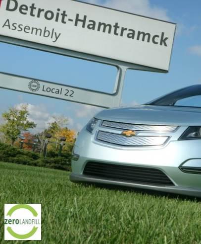 GM Detroit plant zero waste