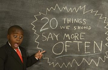 Kid President - 20 Things We Should Say More Often
