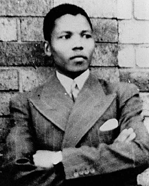 Mandela young man