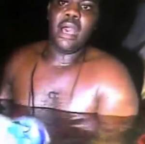 Nigerian survivor found in air pocket underwater