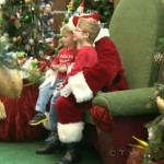 Santas lap with kids-CTVvideo