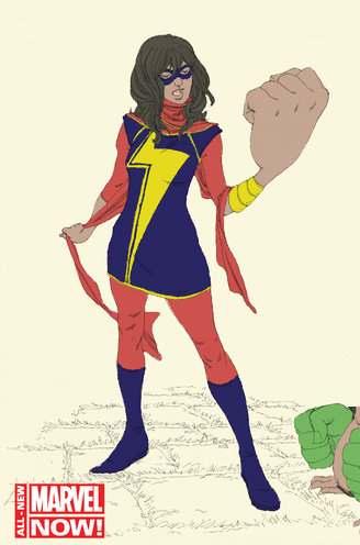 comic Marvels Kamala Khan
