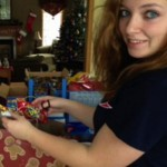 teen Jessica Peterson buys homeless gifts