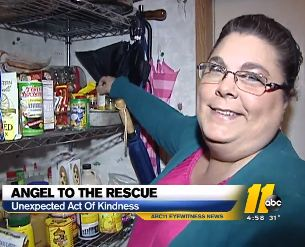Angel to the rescue paying grocery tab-WTVDvid