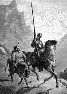 Don_Quijote_and_Sancho_Panza-by GustaveDore 1863