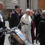 Pope auctions motorcycle-BonhamsAuction