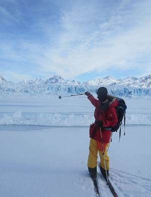 South Pole trek Lewis Clarke