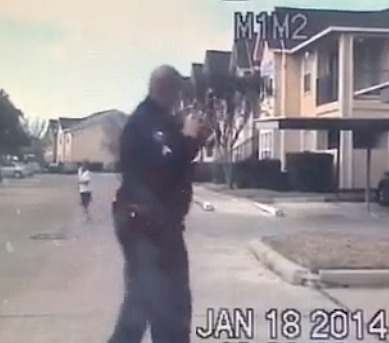 cop dashcam shows football toss with lonely boy
